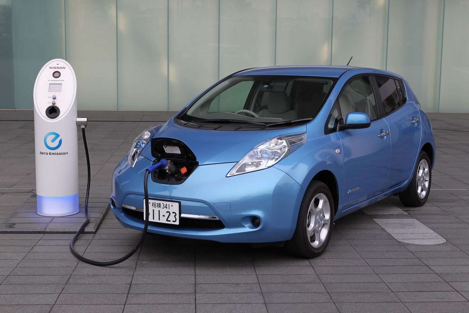 Ниссан Leaf стал наиболее популярным электромобилем Российской Федерации