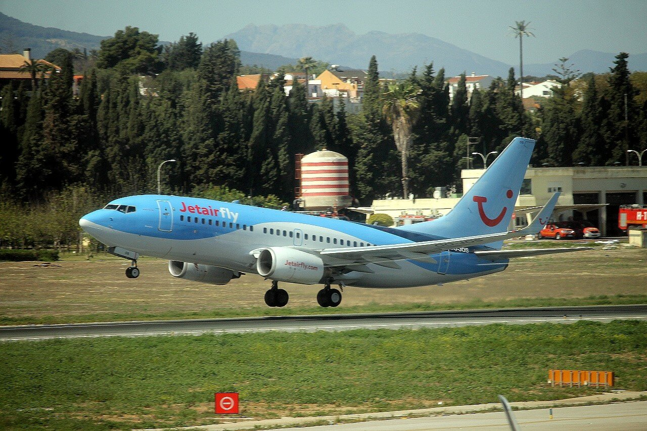 Airport Malaga-Costa del Sol. Jetairfly