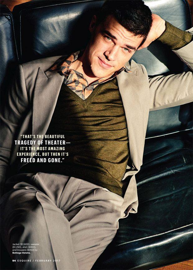 Финн Уиттрок в Esquire Magazine