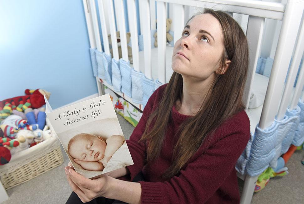 Solent News/REX/Shutterstock «Когда я была беременна во второй раз, у меня был 9-месячный сын. Однаж