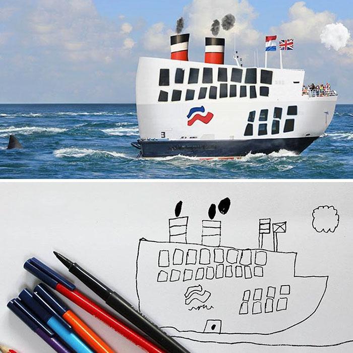 Корабль.