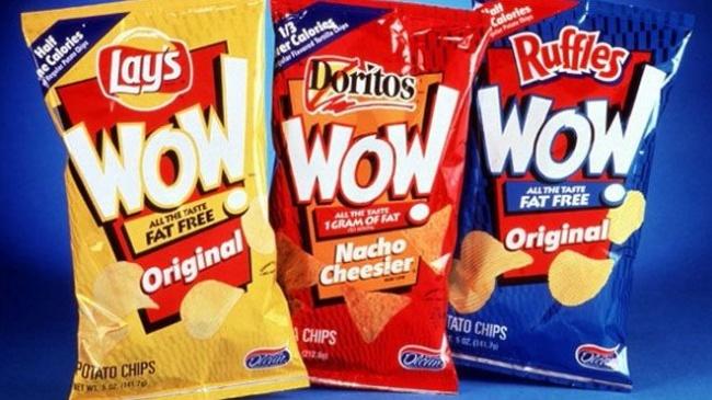 © fritolay.com  Новая линия Frito-Lay, обещавшая обезжиренные чипсы, была слишком хороша, чтоб