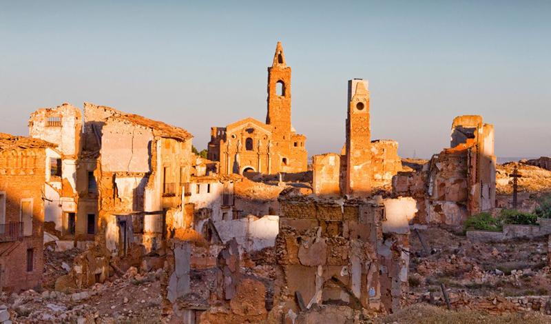 Бельчите Эта деревня-призрак стала местом ожесточенных боев между солдатами генерала Франко и испанс