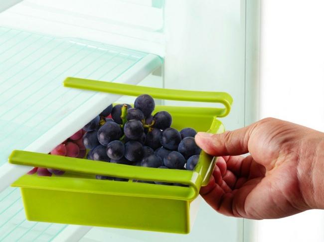 © Qubicinc  © Getdatgadget  Даже вбольшом холодильнике часто нехватает места. Особенно