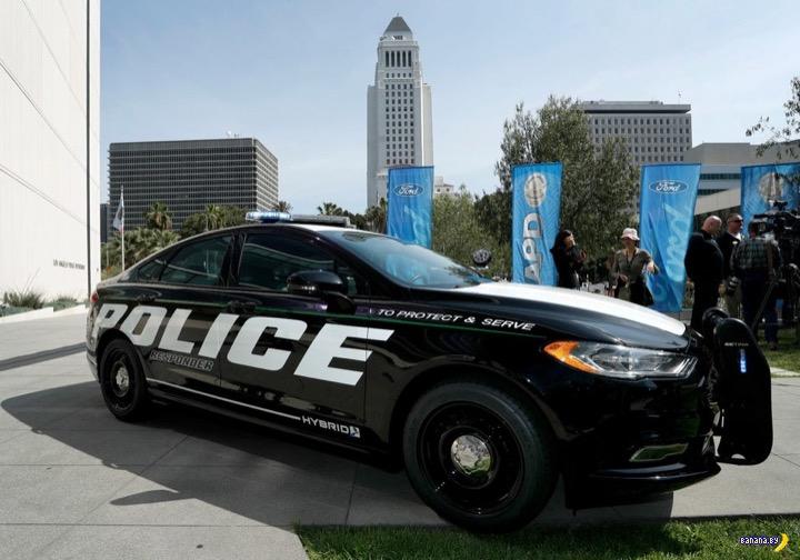 Работа полицейских – не только быстрые погони и выезды на вызов, но еще и неторопливое патрули