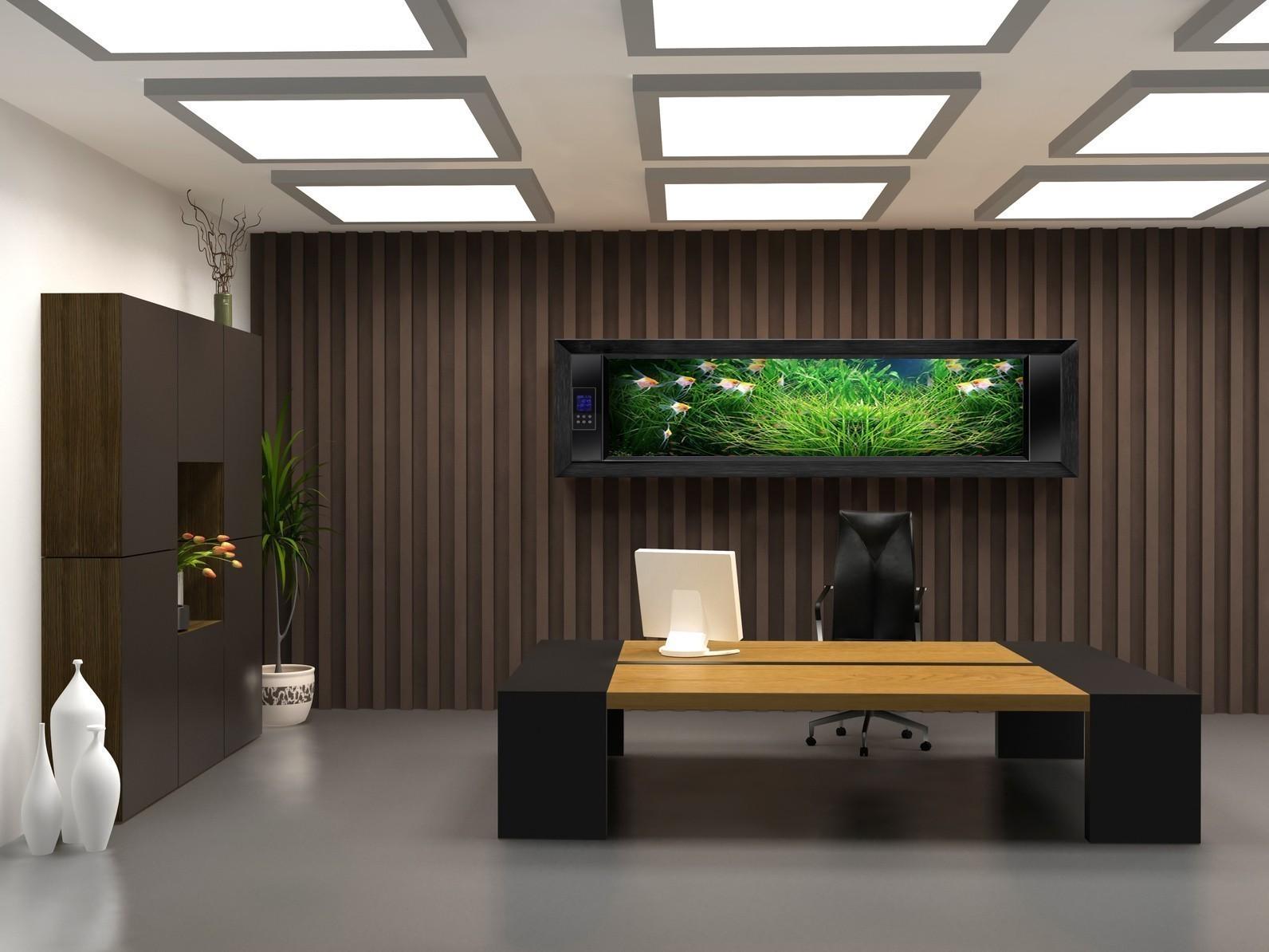 Дизайн и стили интерьера в современных офисах (1 фото)