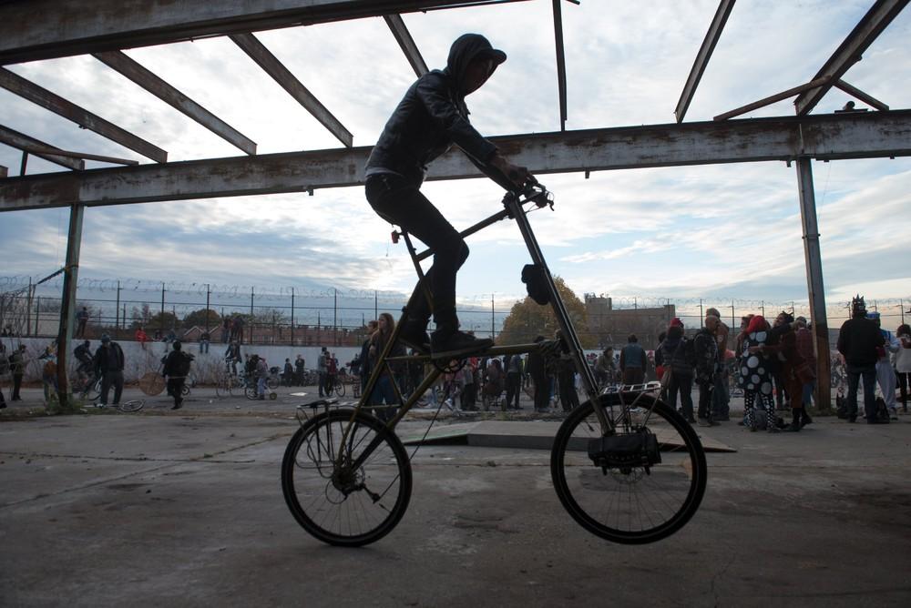 Bike Kill 12 в Нью-Йорке