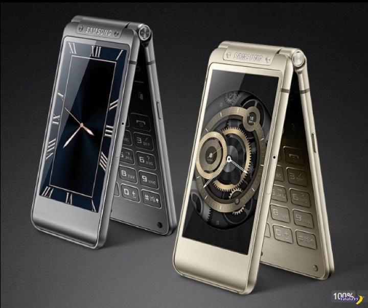 Samsung выпустил раскладушку