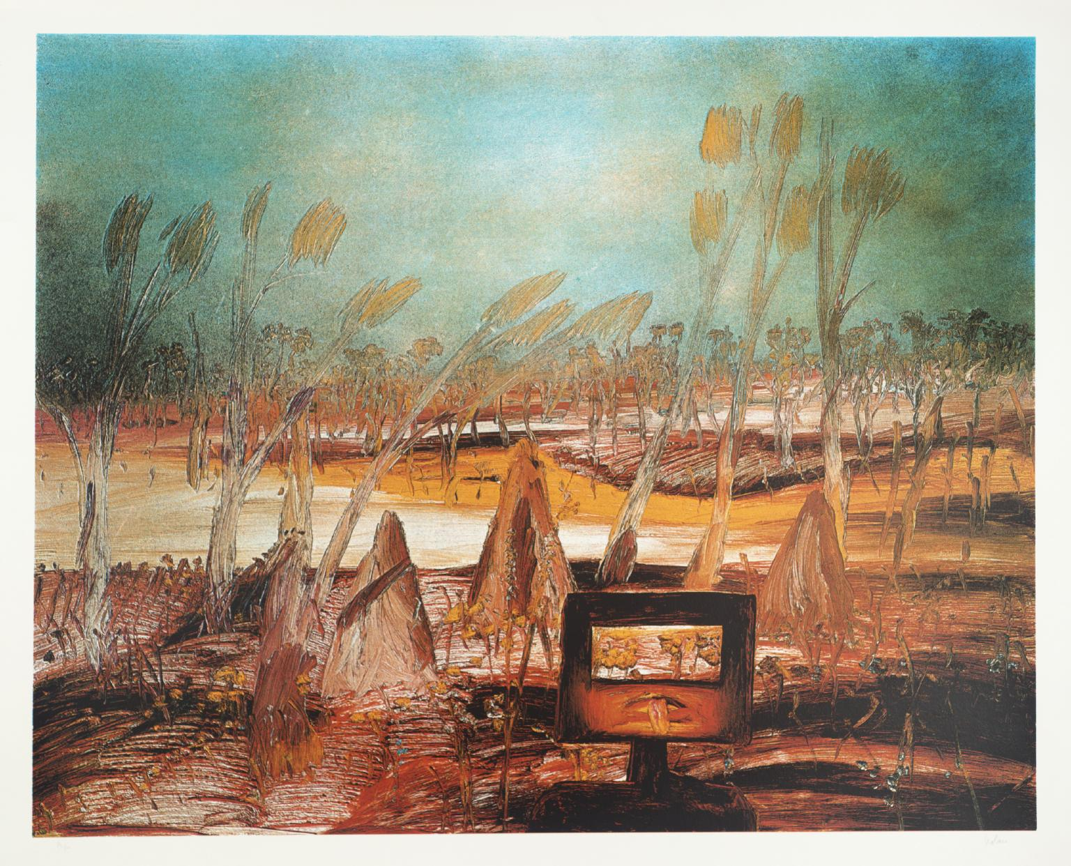 Ned Kelly 1973 by Sir Sidney Nolan 1917-1992