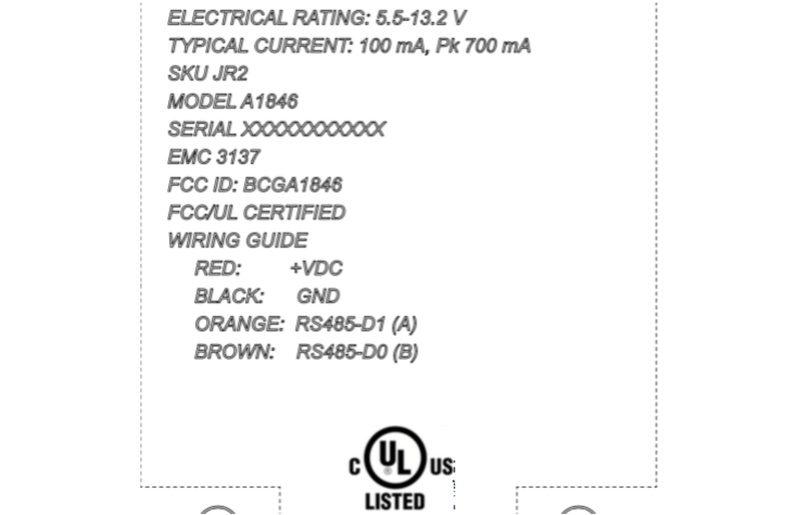 Apple зарегистрировано новое беспроводное современное устройство A1846
