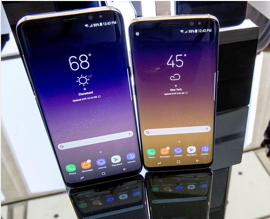 Выявлены недочеты флагманского телефона Самсунг Galaxy S8