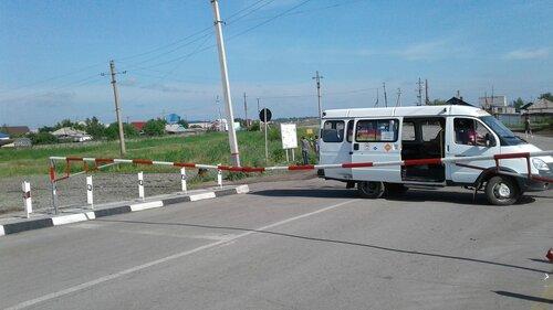 закрыли переезд на Куйбышев