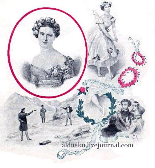 Истомина. 15 илл. из 4 тома «История танцев» С.Н. Худекова.