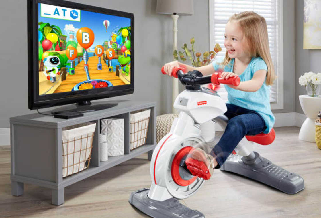 Fisher-Price unveils the connected exercise bike for kids