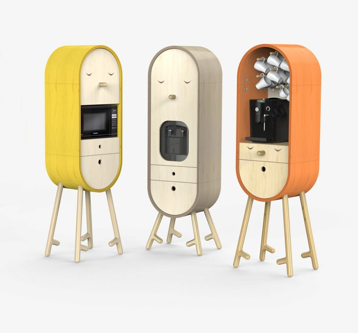 LoLo micro-kitchen by Tatyana and Mikhail Repin