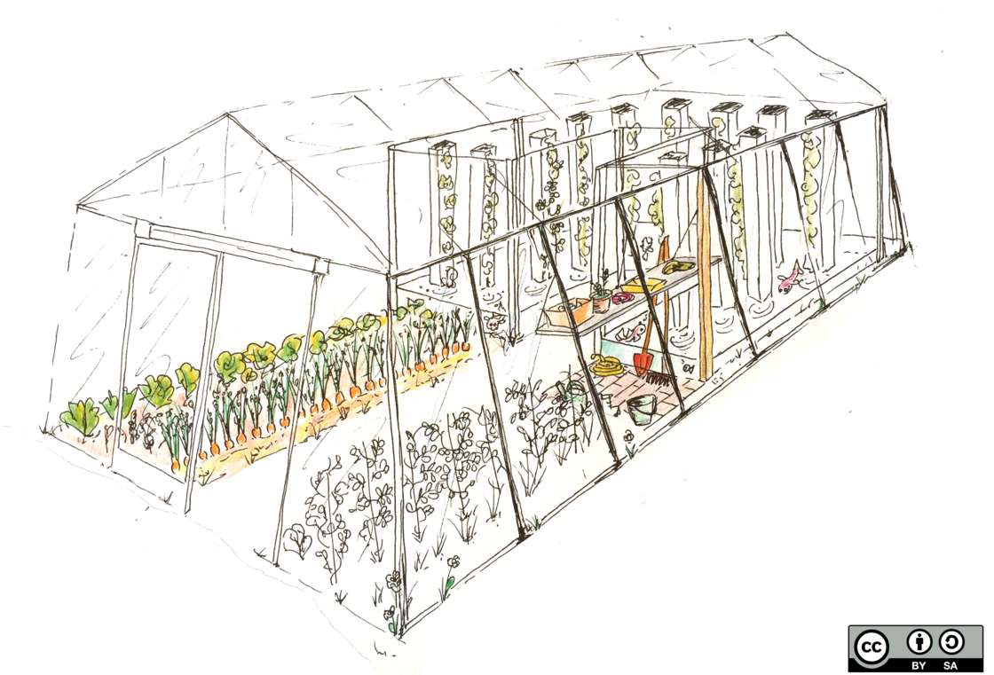 This connected greenhouse feeds four people for less than 8000 €