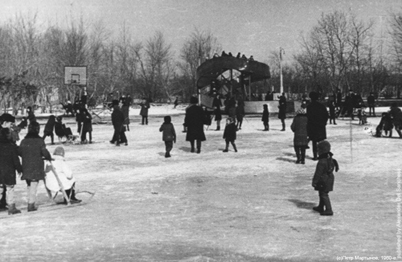 Масленица Белгород ок. 1965 г. Фото П.Мартынов