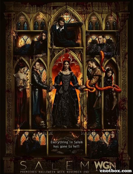 Салем (3 сезон: 1-10 серии из 10) / Salem / 2016 / ПМ (LostFilm) / WEB-DLRip + WEB-DL (1080p)