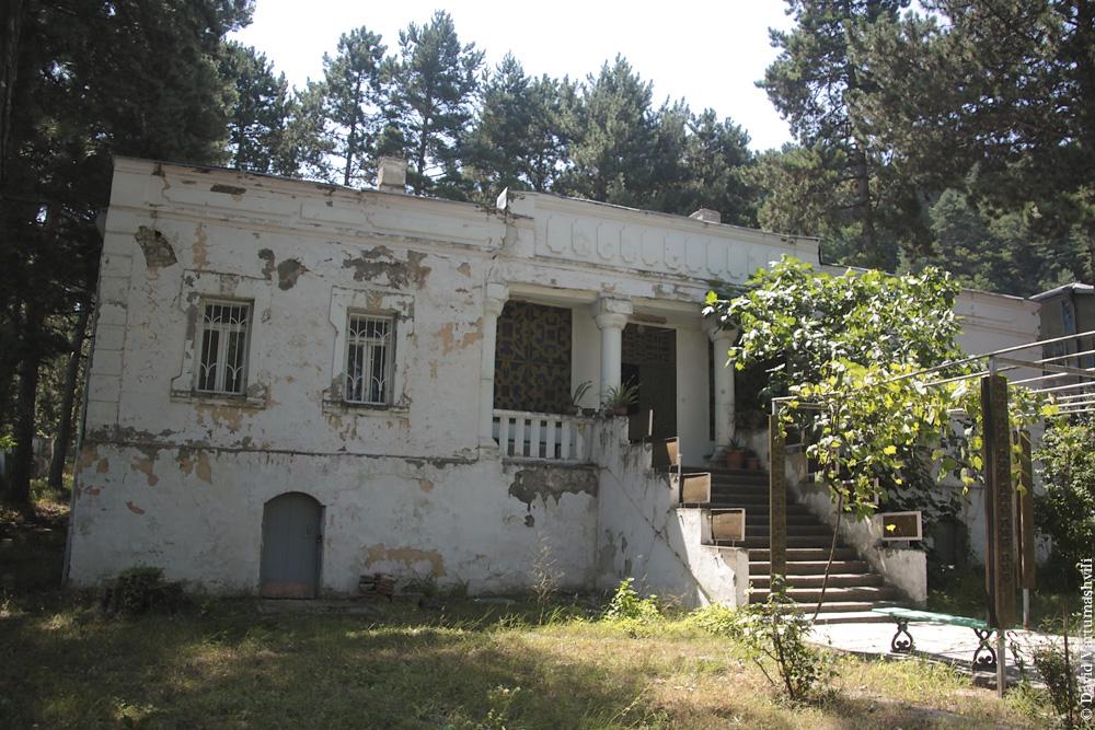 Грузия, дом-музей Леси Украинки в Сурами