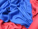 Ткань: Кашемир. Синий Ширина 145. Цена 10000. Красный Ширина 140. Цена 8000
