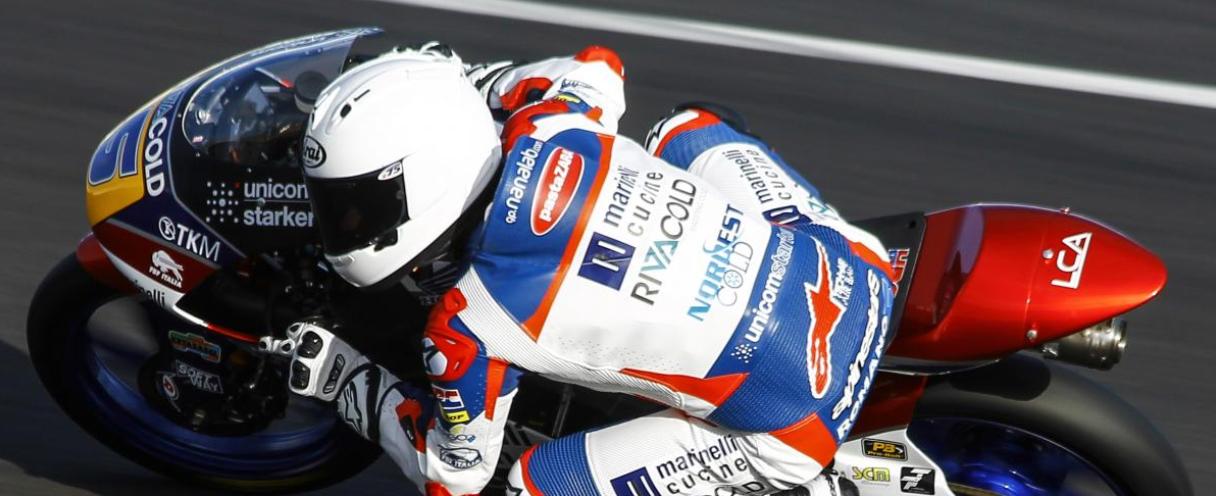 Пелотон Moto3 готовится к официальным тестам в Хересе