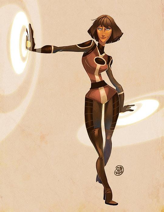 Character Illustrations by Brett Bean