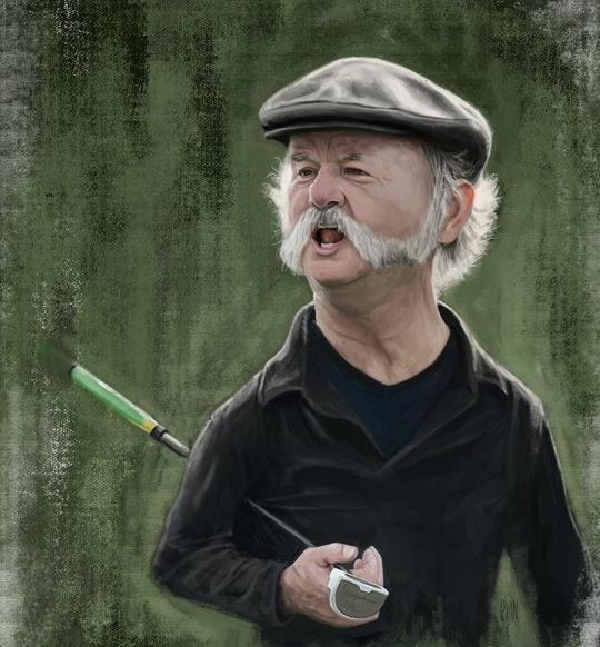 Portrait Illustrations by Ryan Colquhoun