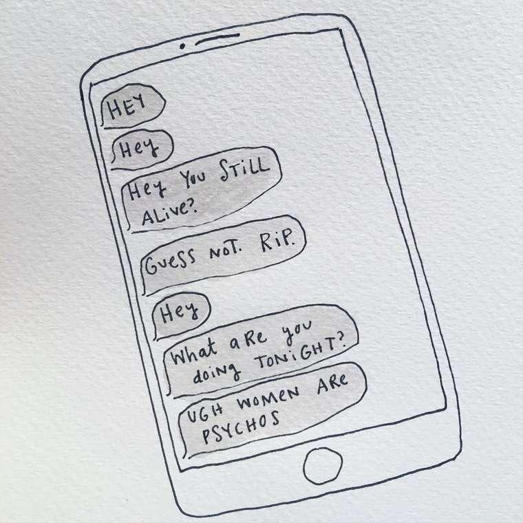 Elle illustre sa vie de celibataire sur Instagram