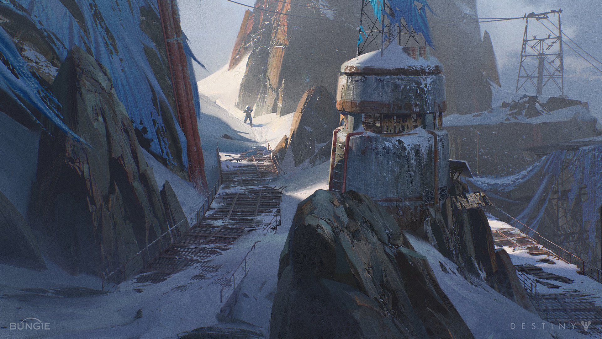 Destiny: Rise of Iron Concept Art by Sung Choi