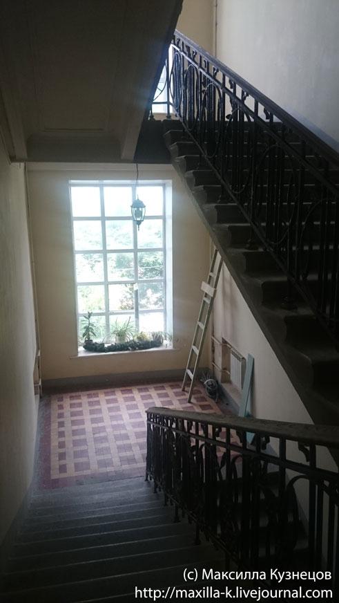 Наверх по лестнице
