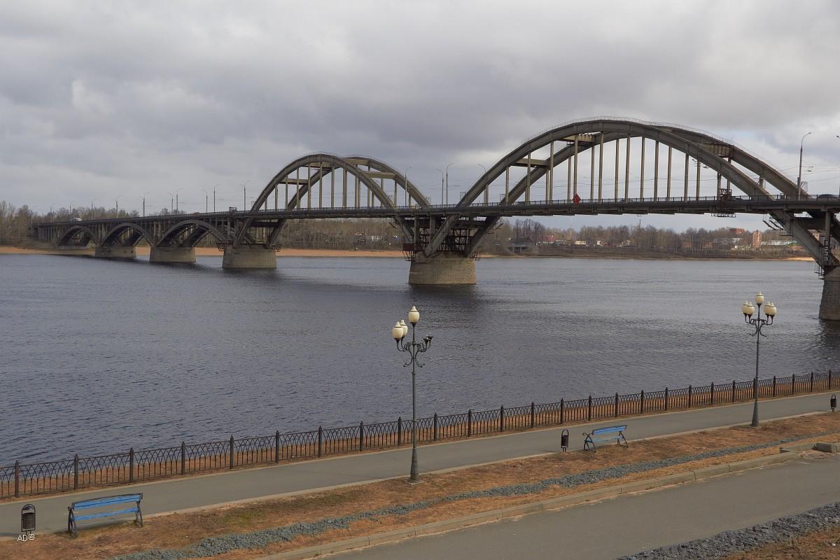 Золотое кольцо - Рыбинск - набережная