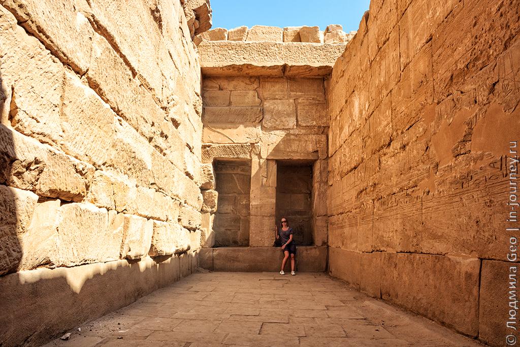 египетский храм Карнак