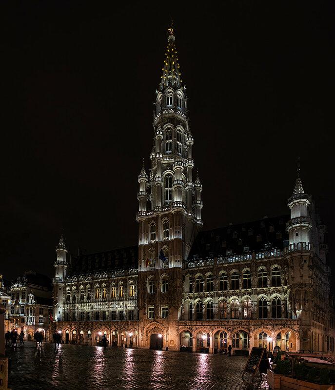 Брюссель. Ратуша.