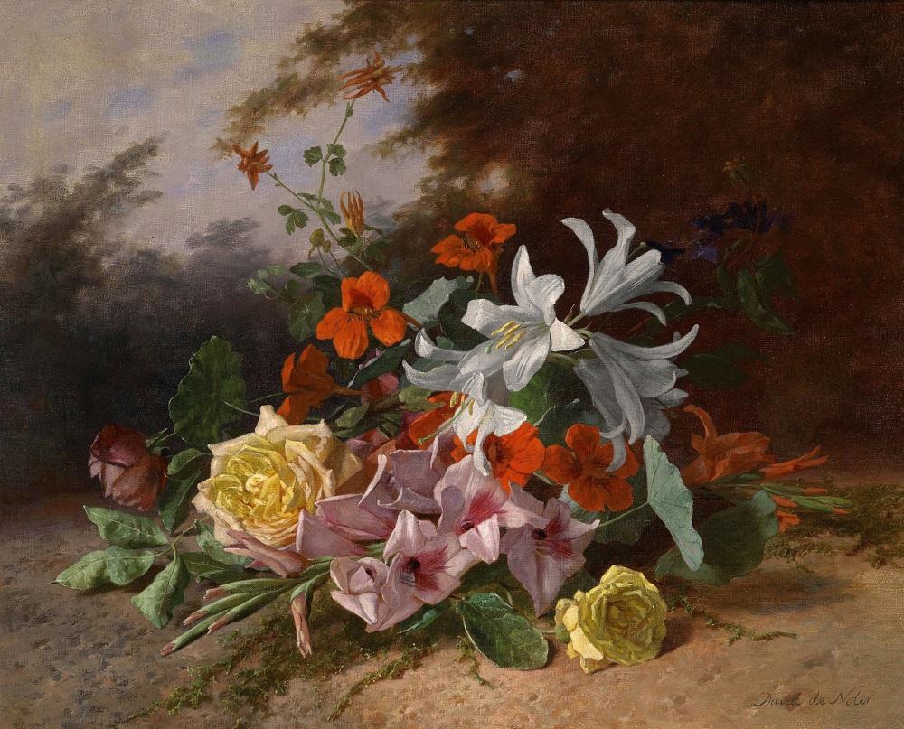 David Emile Joseph de NoterJeté de fleurs