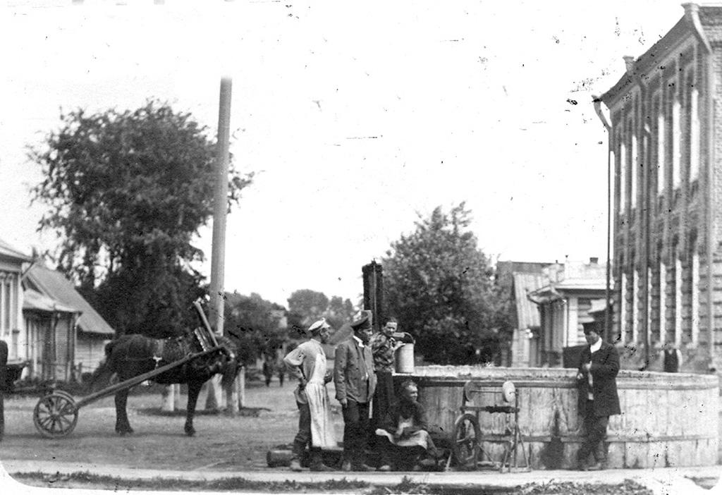 Водоразборный фонтан на ул Благовещенской