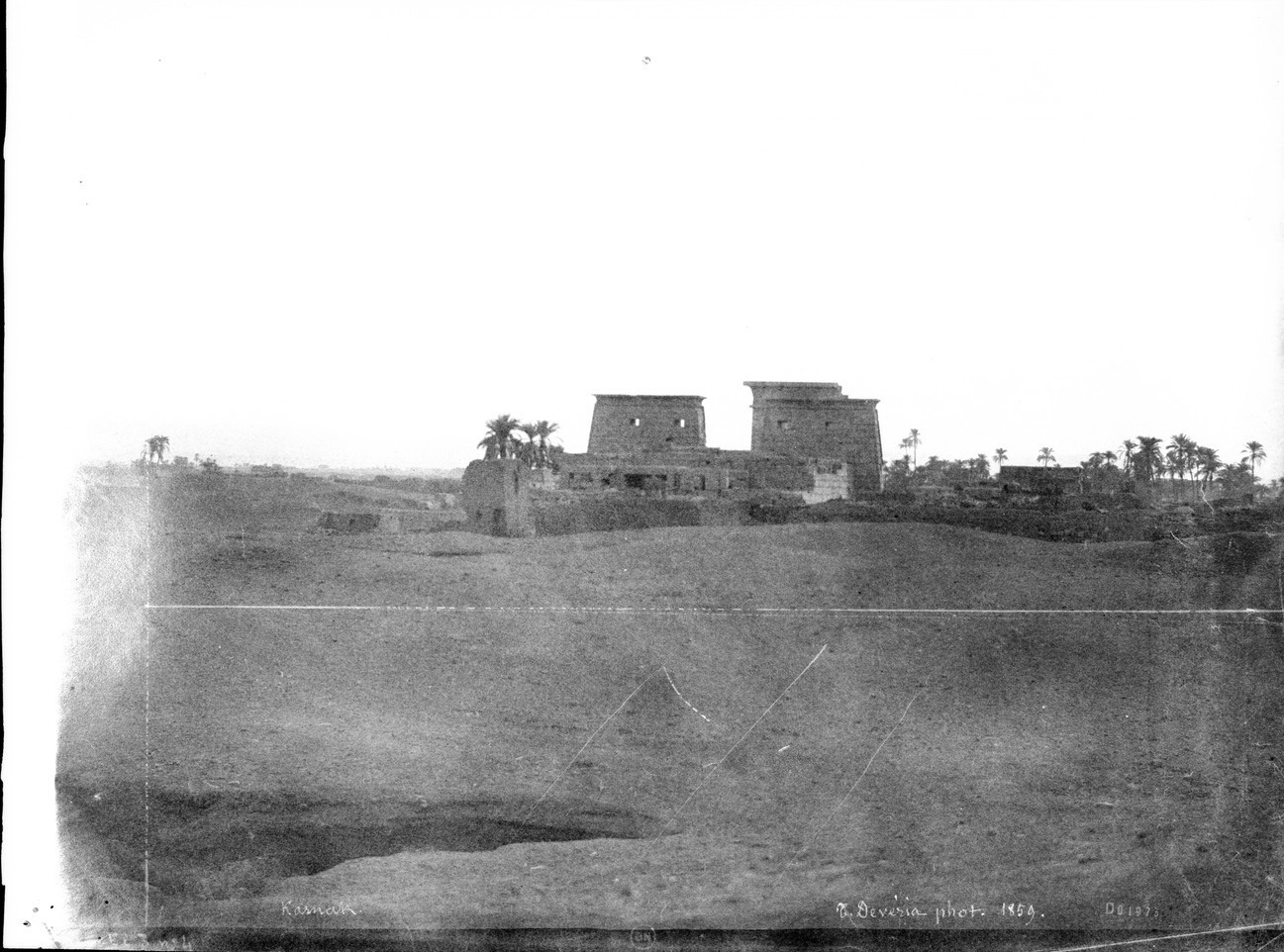 Карнак. Вид храма Хонсу