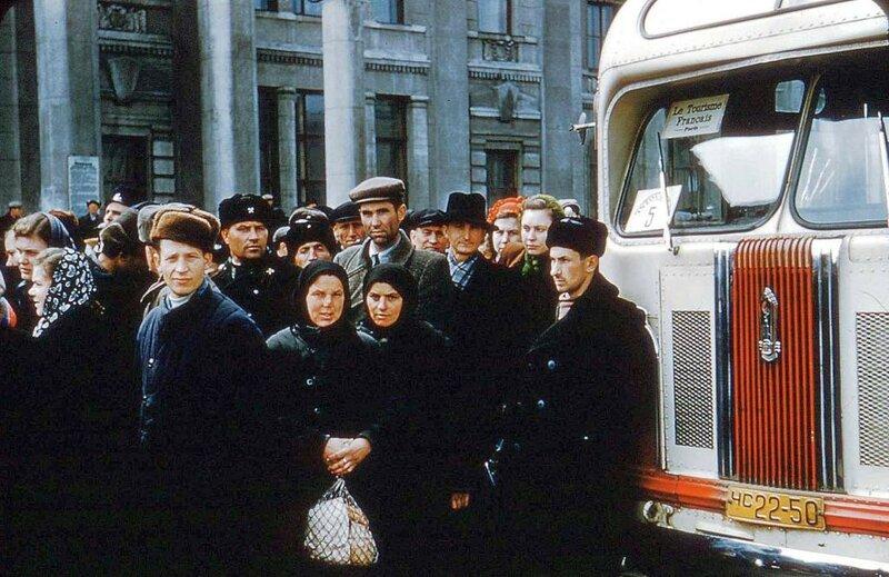 1956 Odessa by Horst Koch ЗИС-155 на заказном маршруте.jpg