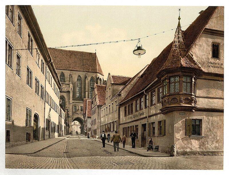 Виды Германии на цветных фотографиях 19 века. 5.