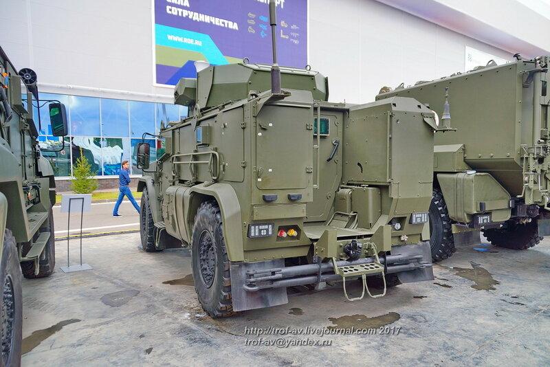 Бронеавтомобиль Тайфун К-4386, форум Армия-2017