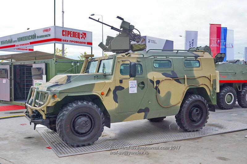 Авто многоцелевого назначения АМН-233114 Тигр-М с боевым модулем Арбалет-ДМ, форум Армия-2017