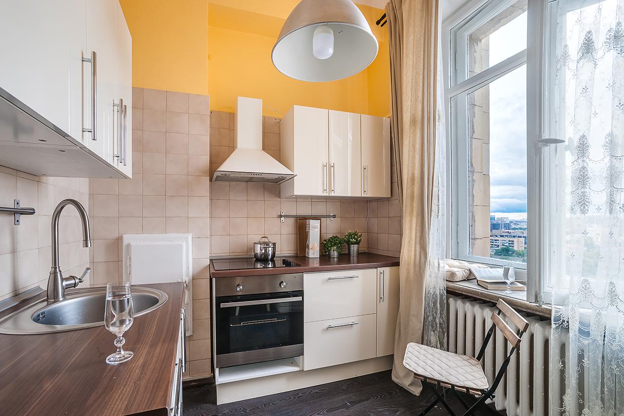 профессиональная фотосъемка коридоров и кухонь