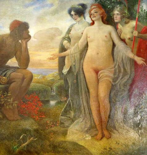Подборка живописи Суд Париса