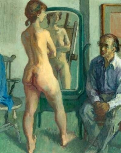Moses Soyer Artist And Model