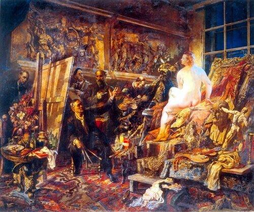 Василий Николаевич Яковлев Спор об искусстве. 1946