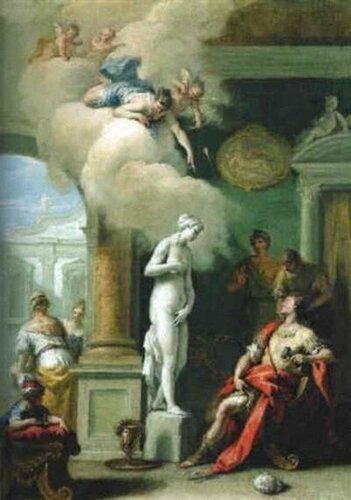 Риччи Себастьяно, Пигмалион и Галатея