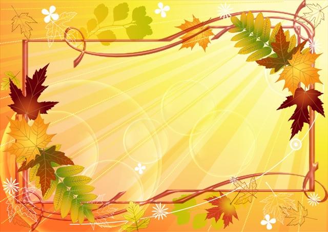 Открытки. Осень. Рамка для фото