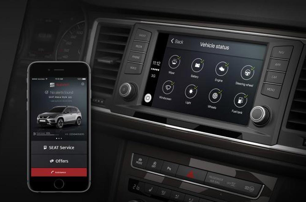 Компания Сеат представила приложение DriveApp споддержкой андроид Auto