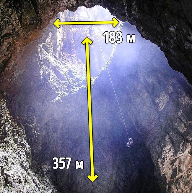 © Lana Kowarski / Facebook  Харвудская дыра— пещера, расположенная вНовой Зеландии. Она явля