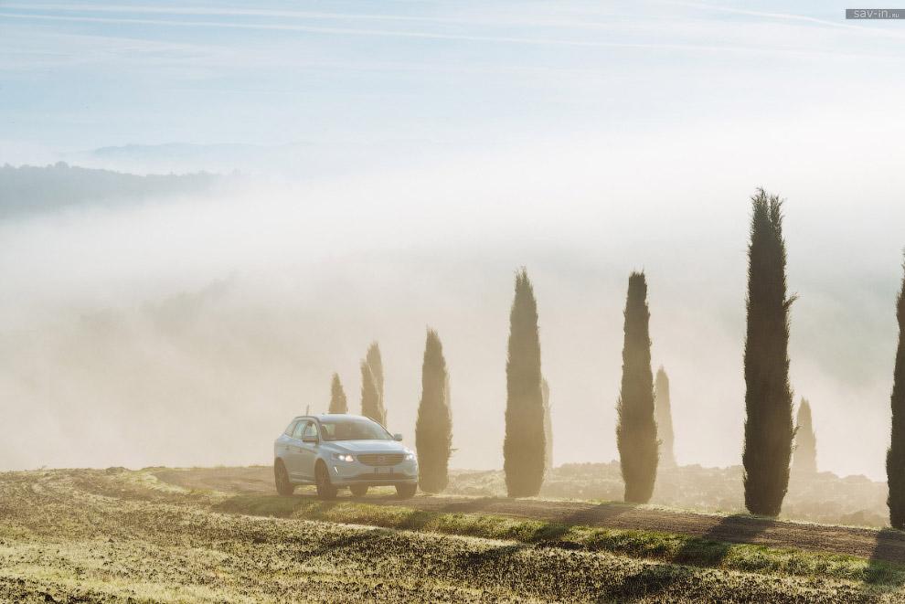 Удивительное свойство тосканской природы — кажется помести в него любой урбанистический продукт