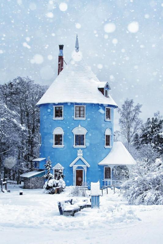 1. Дом муми-троллей в Наантали, Финляндия.